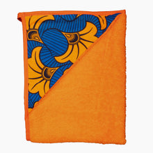 Load image into Gallery viewer, Orange Hibiscus | Newborn towel - Muffin Sisters