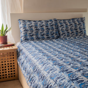African print duvet cover & pillow set | African bedding | Ankara print bedding