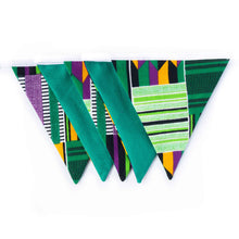 Load image into Gallery viewer, Small African print bunting