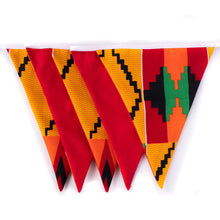 Load image into Gallery viewer, African print bunting