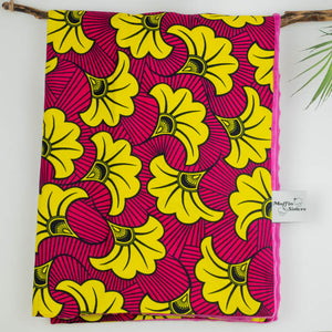 Yellow Hibiscus |  Light blanket