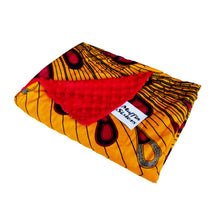 Load image into Gallery viewer, Addo  |  African ankara minky baby blanket light - Muffin Sisters