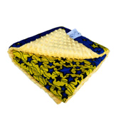 Aje |  African ankara minky baby blanket - Muffin Sisters