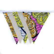 Load image into Gallery viewer, Sajara | African print bunting