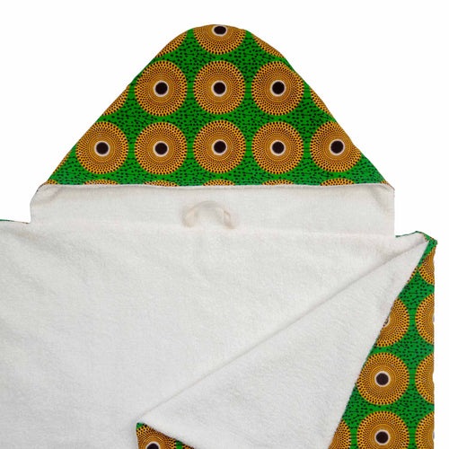 Asa |  Toddler hooded towel