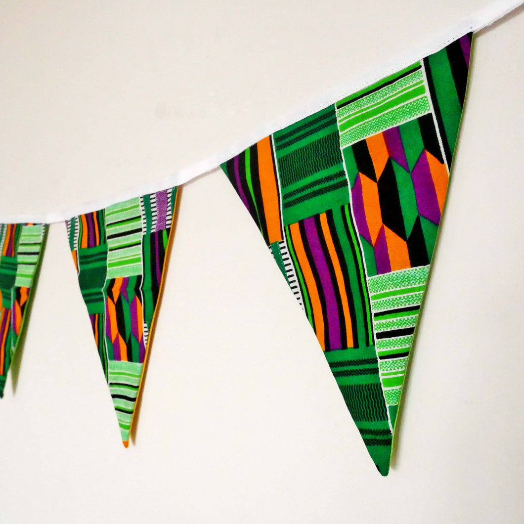 African print bunting - Muffin Sisters