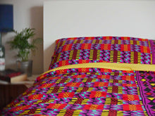 Load image into Gallery viewer, African print duvet cover & pillow set | African bedding | Ankara print bedding - Muffin Sisters