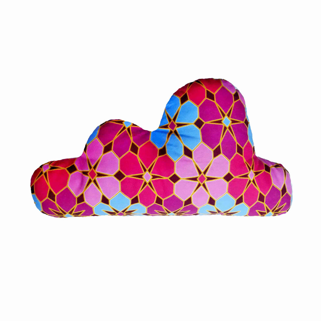 Decorative cloud shaped nursery pillow - Muffin Sisters