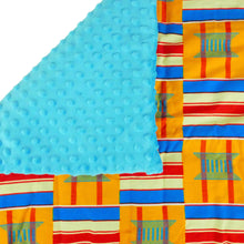Load image into Gallery viewer, Nyalitch |  African ankara minky baby blanket - Muffin Sisters
