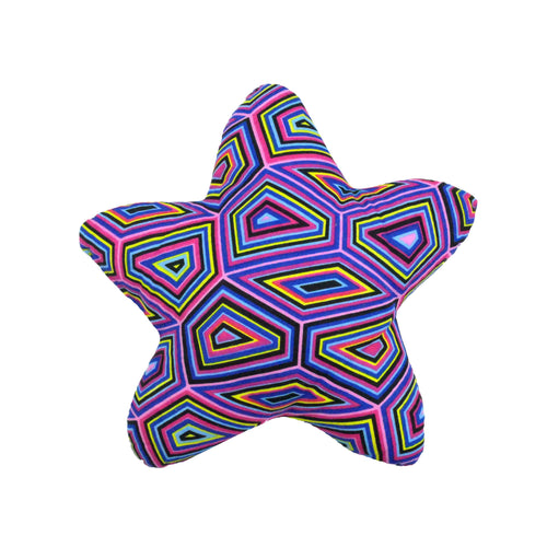 Decorative star shaped nursery pillow - Muffin Sisters