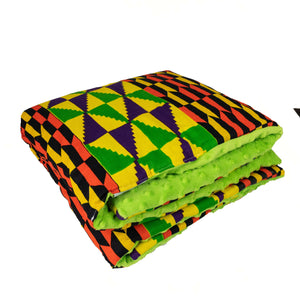 Mujaji |  TODDLER baby blanket & pillow set - Muffin Sisters