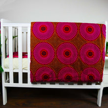 Load image into Gallery viewer, Ibeji |  TODDLER baby blanket & pillow set - Muffin Sisters