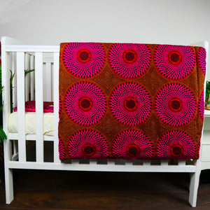 Ibeji |  TODDLER baby blanket & pillow set - Muffin Sisters
