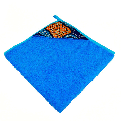Amma | African print newborn baby towel - Muffin Sisters