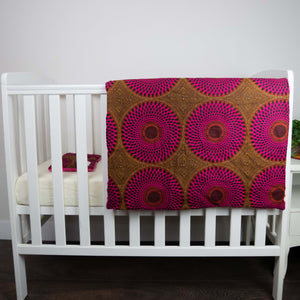 Ibeji |  Newborn blanket & pillow set - Muffin Sisters