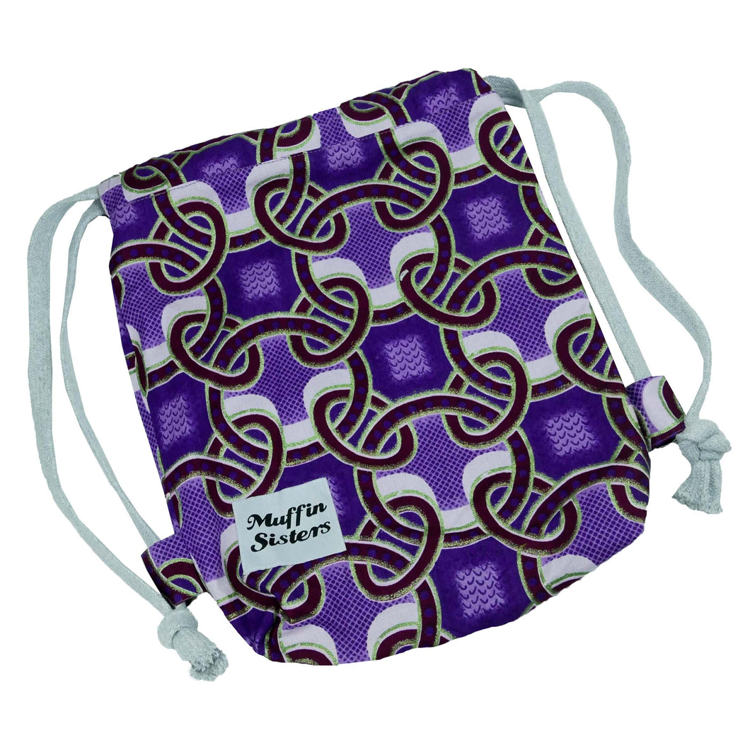 Small Drawstring Backpack - Muffin Sisters