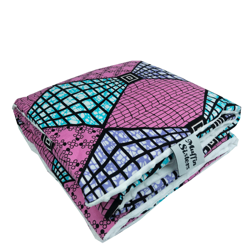 Nai |  Toddler blanket & pillow set - Muffin Sisters