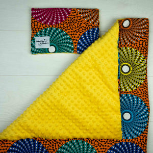 Rufaro |  Newborn blanket & pillow set - Muffin Sisters