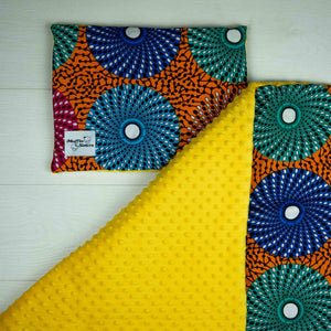 Rufaro |  Toddler blanket & pillow set - Muffin Sisters
