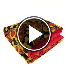 Load image into Gallery viewer, Orunmila |  Newborn blanket & https://youtu.be/z6iVfg5gz04pillow set - Muffin Sisters