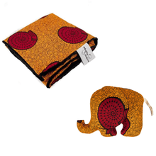 Load image into Gallery viewer, Blanket + elephant toy bundle