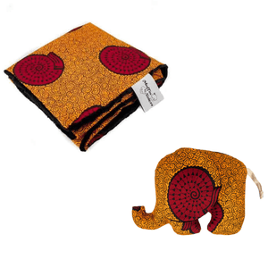 Blanket + elephant toy bundle