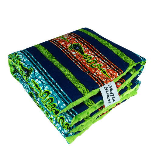 Shango |  Toddler blanket & pillow set - Muffin Sisters