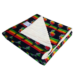 Adult African minky blanket | Throw blanket - Muffin Sisters