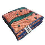 Nambi |  African ankara minky baby blanket & pillow set - Muffin Sisters