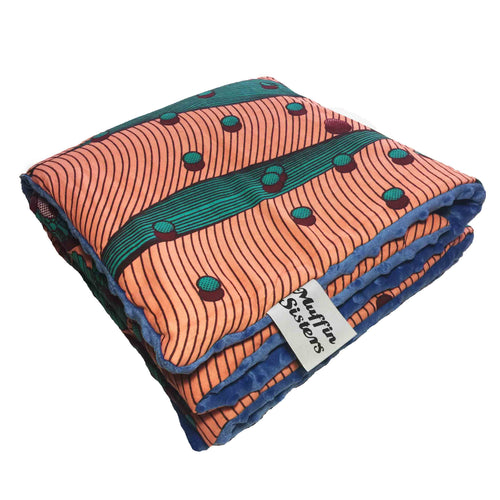Nambi |  Toddler blanket & pillow set - Muffin Sisters