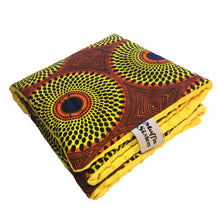 Load image into Gallery viewer, Chonganda |  African ankara minky baby blanket & pillow set - Muffin Sisters