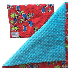 Load image into Gallery viewer, Ebore |  African ankara minky baby blanket & pillow set - Muffin Sisters