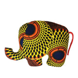 Shakini | African ankara print plush soft toy elephant - Muffin Sisters