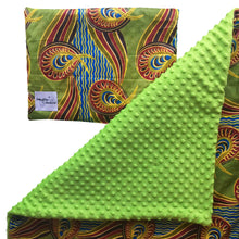 Load image into Gallery viewer, Edinkira |  African ankara minky baby blanket & pillow set - Muffin Sisters