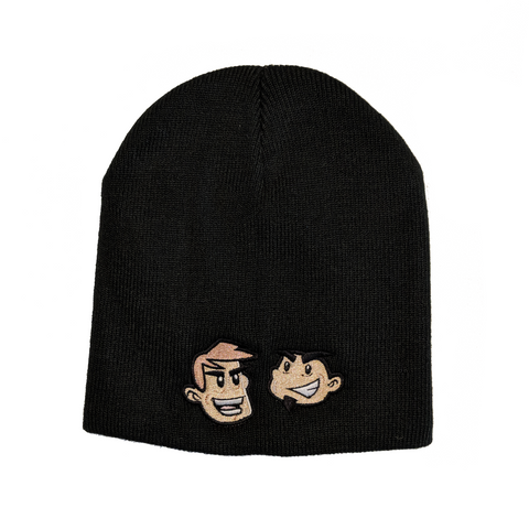 "Dave & Chuck ""the Freak"" Cartoon Beanie"