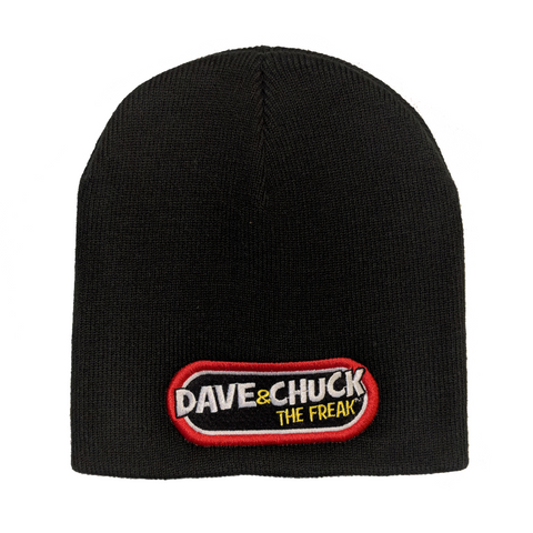 "Dave & Chuck ""the Freak"" Logo Beanie"