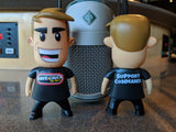 "Dave & Chuck ""the Freak"" Vinyl Toys"
