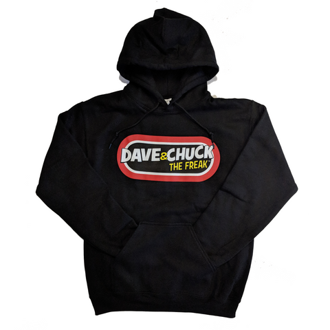 "Dave & Chuck ""the Freak"" Pullover Hoodie"
