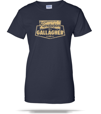 Be A Gallagher Ladies Tee - Splashing T-Shirts