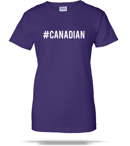 Canadian Ladies Tee - Splashing T-Shirts