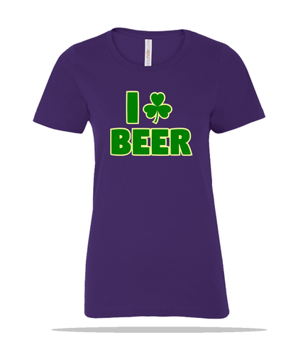 I Beer Ladies Tee
