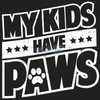 Kids Have Paws Ladies Tee