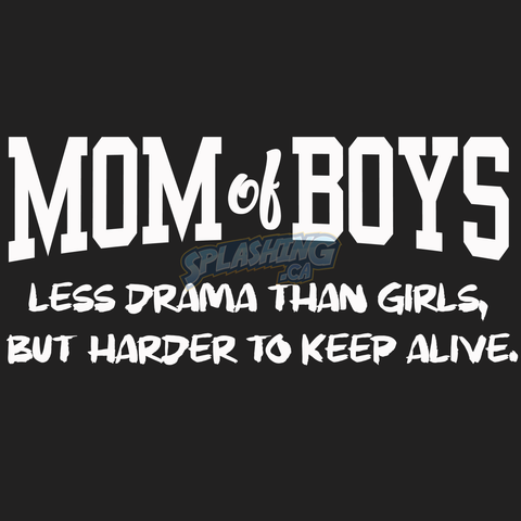 Mom Of Boys Unisex Tee