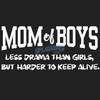 Mom Of Boys Ladies Tee
