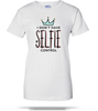 No Selfie Control Ladies Tee