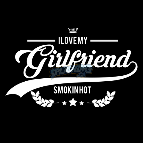 Smokin Hot Girlfriend Unisex Tee