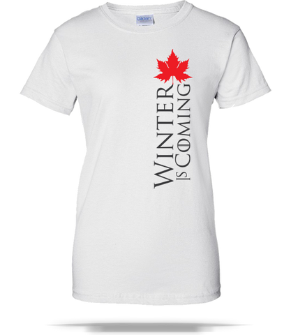 Canada Winter Ladies Tee