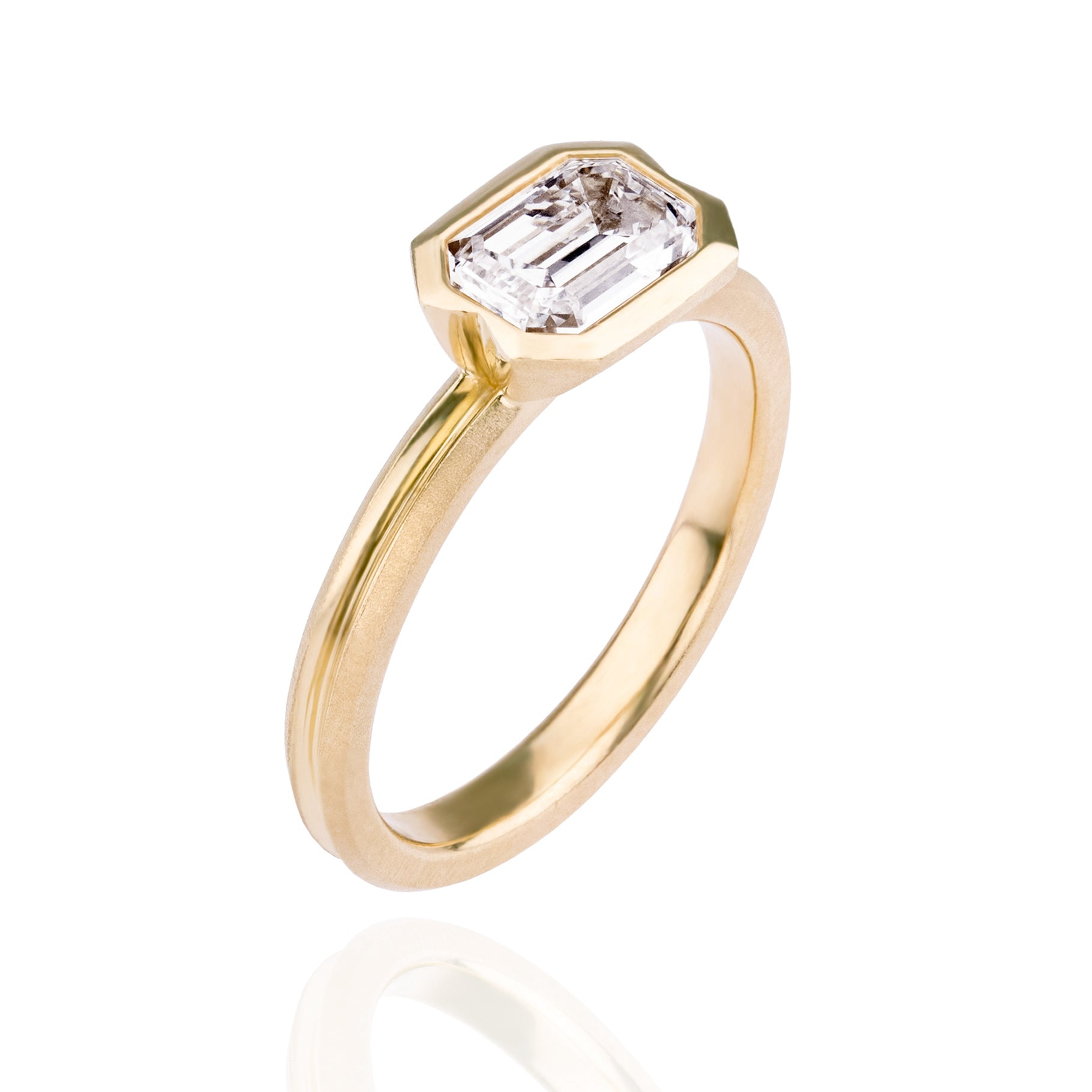 Orme-Brown Double_Dune_Engagement_Ring_Emerald_Cut_Diamond_gold