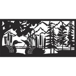 24 x 48 Loon Panel - AJD Designs Homestore