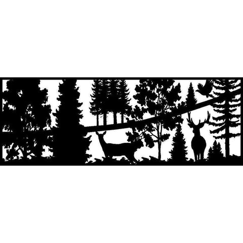 24 x 60 Buck Doe Raven - AJD Designs Homestore